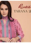 Rivaa launch tarana 2 summer casual wear salwar kameez