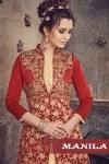 Sanskar sarees launch meraki fancy designer collection of indo western gown