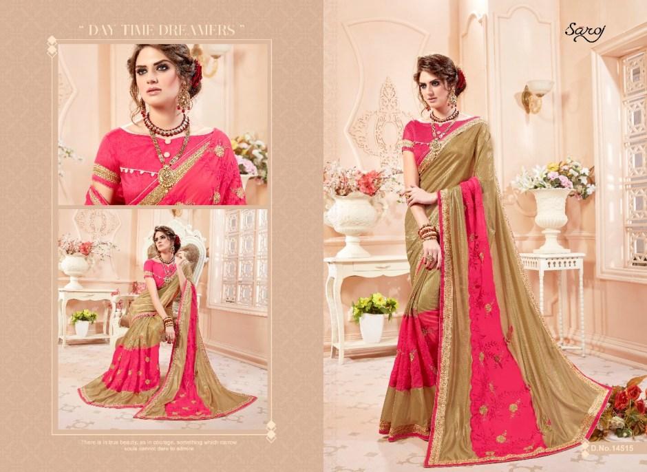 Saroj presents sajawat 2 fancy collection of sarees