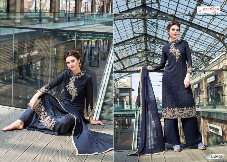 Sarvada presents lamis vol 3 fancy collection of salwar Kameez