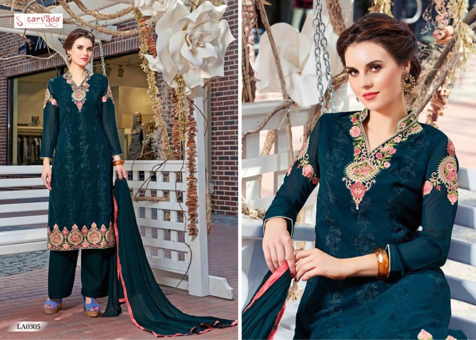 Sarvada presents lamis vol 3 fancy collection of salwar Kameez
