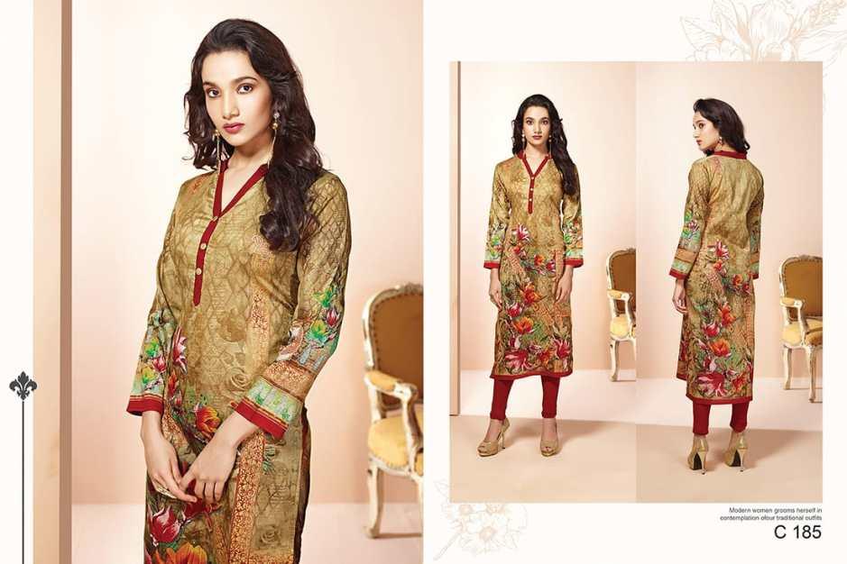 Top dot presenting motif 5 casual wear collection of kurtis