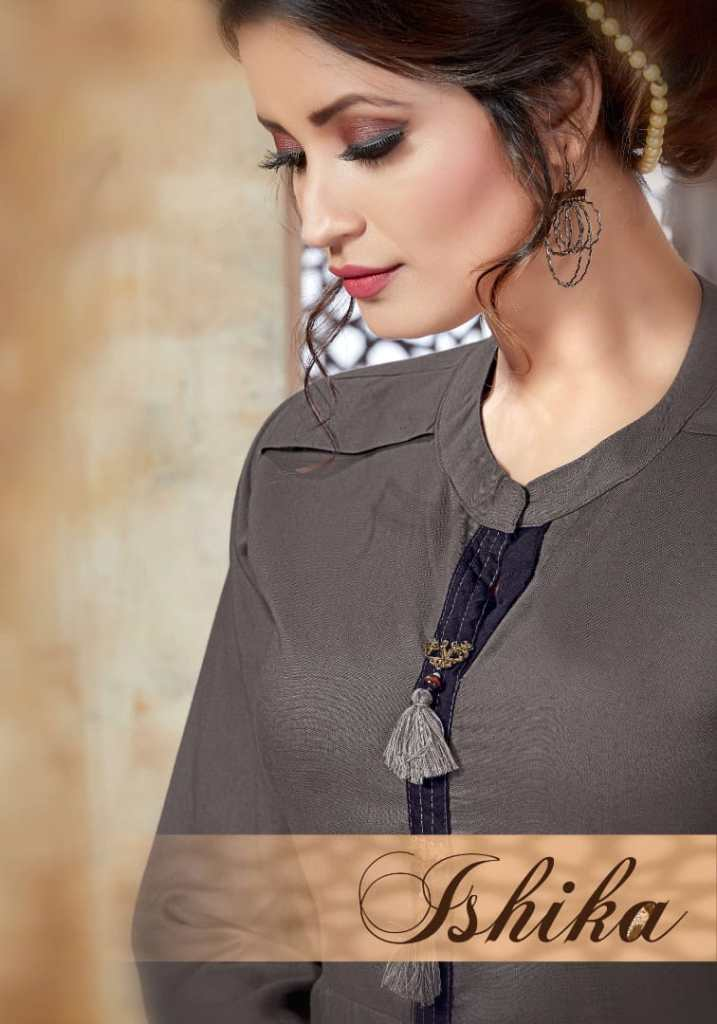 Vesh presents ishika exclusive collection of kurtis