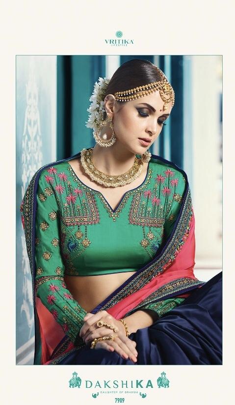 VRITIKA LIFE STYLE Launch swara vol 4 Festive collection sarees