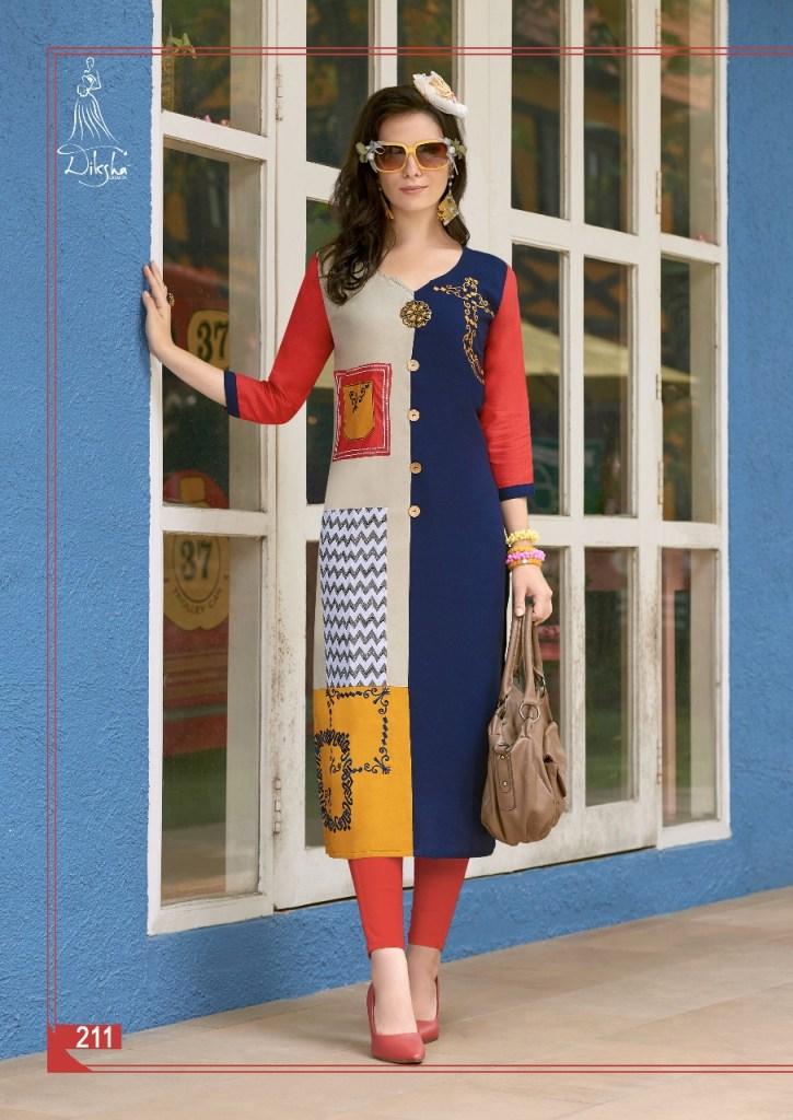Diksha fashion presents maahi vol 2 casual ready to wear kurtis concept