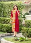 Indolda design's presenting lavina stylish look kurtis concept