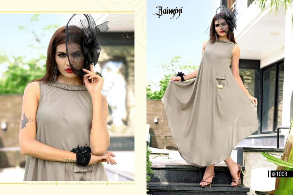 Jaimini Presents butterfly vol 1 Stylish Collection of kurtis