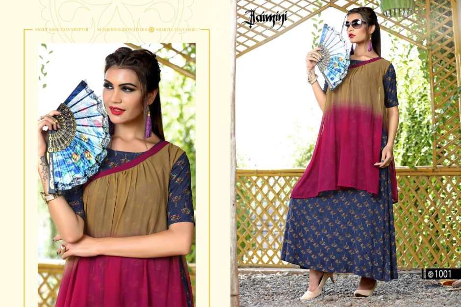 Jaimini Presents butterfly vol 1 Stylish Collection of kurtis