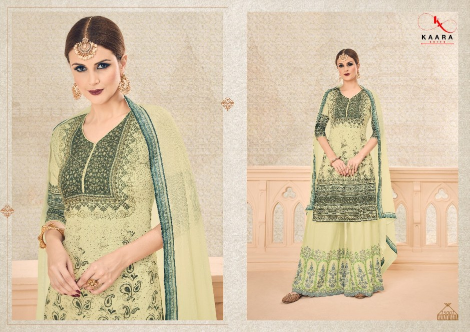 Kaara suits presenting alisha exclusive pure muslin cotton wear salwar kameez concept