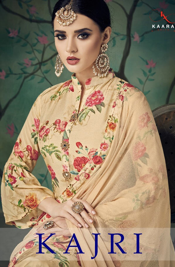 Kaara suits presents kajri stylish concept of salwar kameez