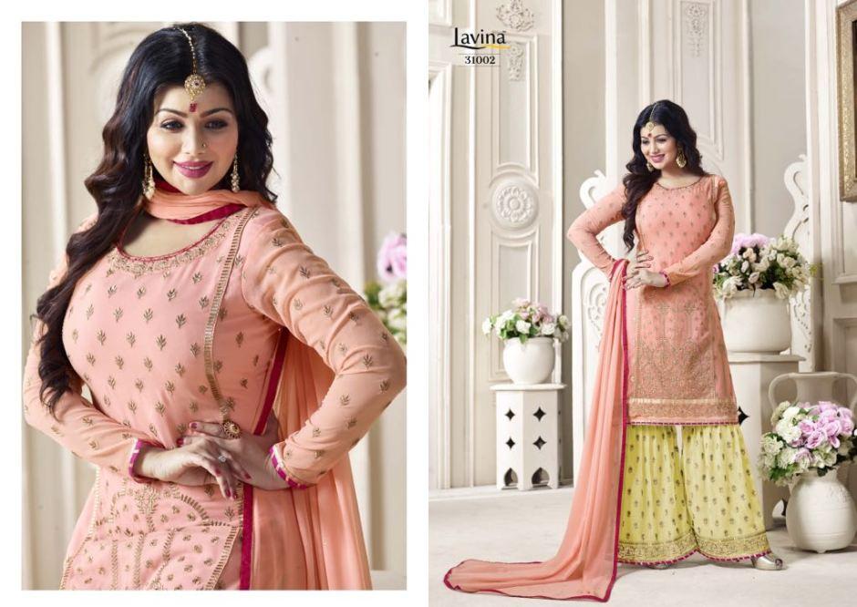Lavina presents volume 31 fancy collection of salwar kameez