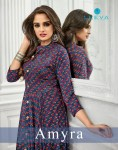 Leeva presents amyra Exclusive kurti style gown concept