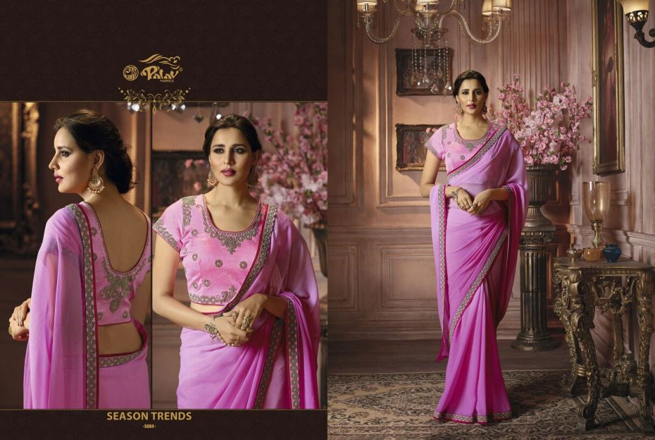 Palav presenting shankham 5 beautiful party wear sarees collection