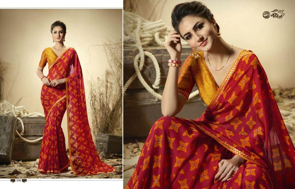 Palav presents patra lekha 5 casual wear sarees concept