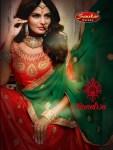 Sanskar sarees presents Monalisa festive traditional concept lehenga