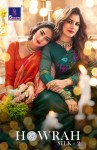 Shangrila presents howrah silk vol 2 lastest fabcy printed sarees collection