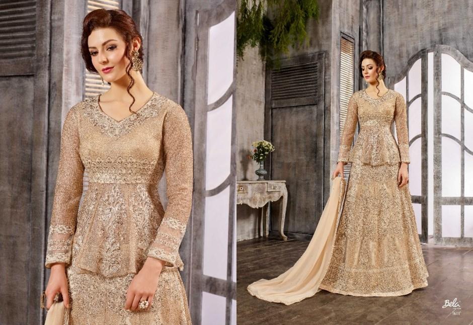 Bela fashion presents celebration heavy bridal Collection stylish indo western