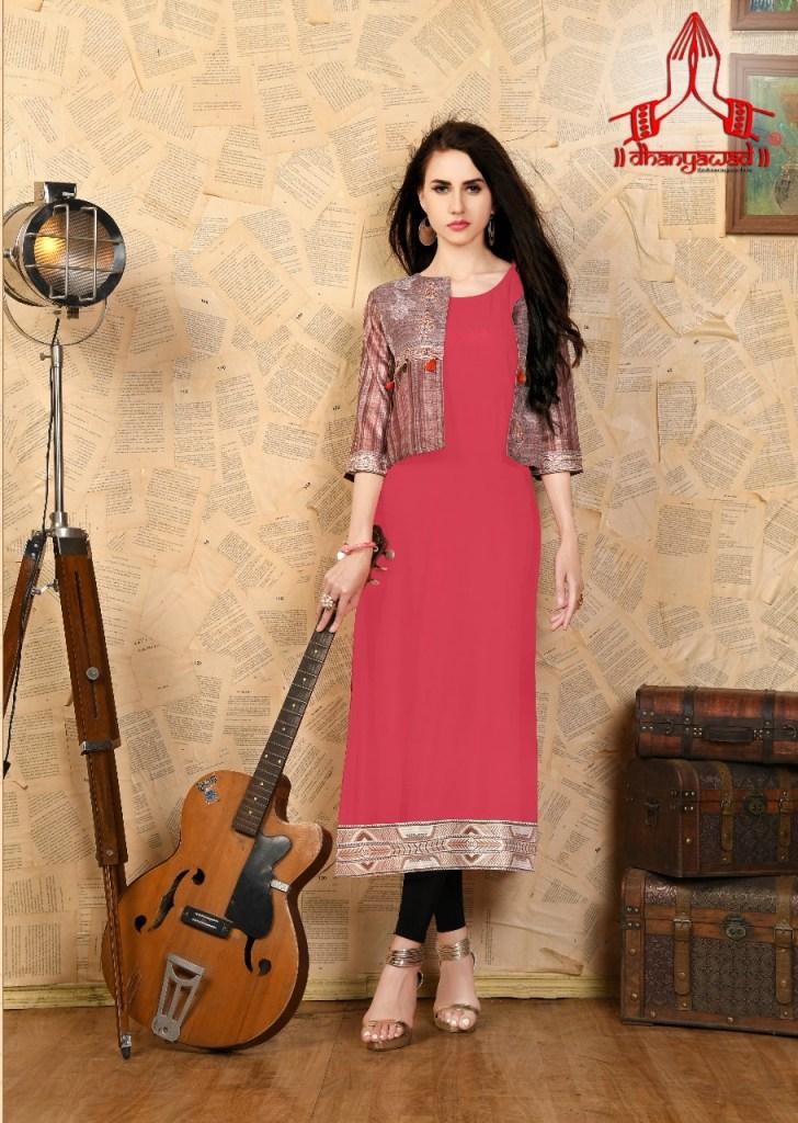 Dhanyawad presents meethi stylish wear kurtis concept