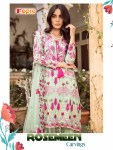 FEPIC presenting rosemeen carvings stylish pakistani collection of salwar kameez