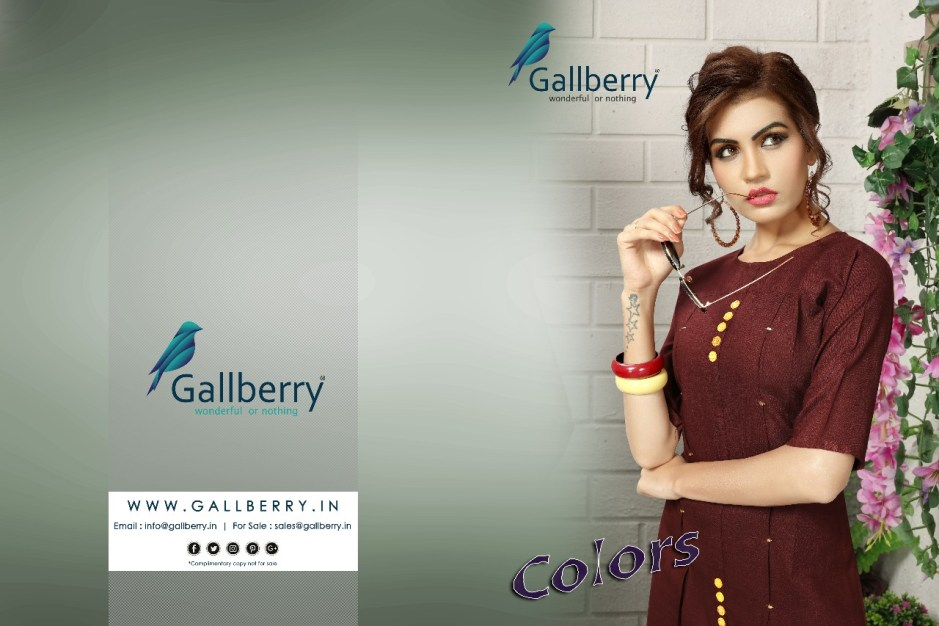 Gallberry presents colors beatiful casual wear kurtis collection