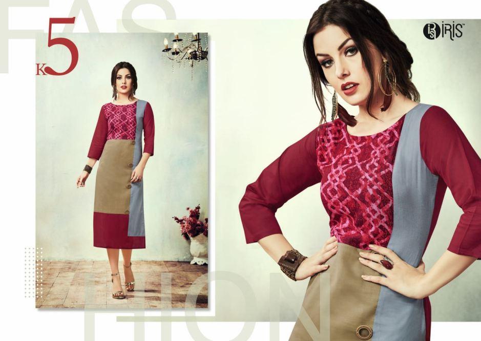 iris presents cherry casual ready to wear kurtis concept