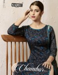 Kajree fashion presents  chambor vol 3 Exclusive embroidery work kurti with plazzo collection