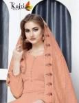 Kajri style presenting zoya vol 1 stylish top with plazzo concept