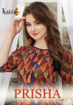 Kajri style presents prisha vol 1 fancy casual wear kurtis concept