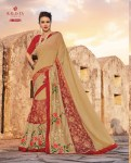 Kalista fashion launch super star casual stylish look sarees collection