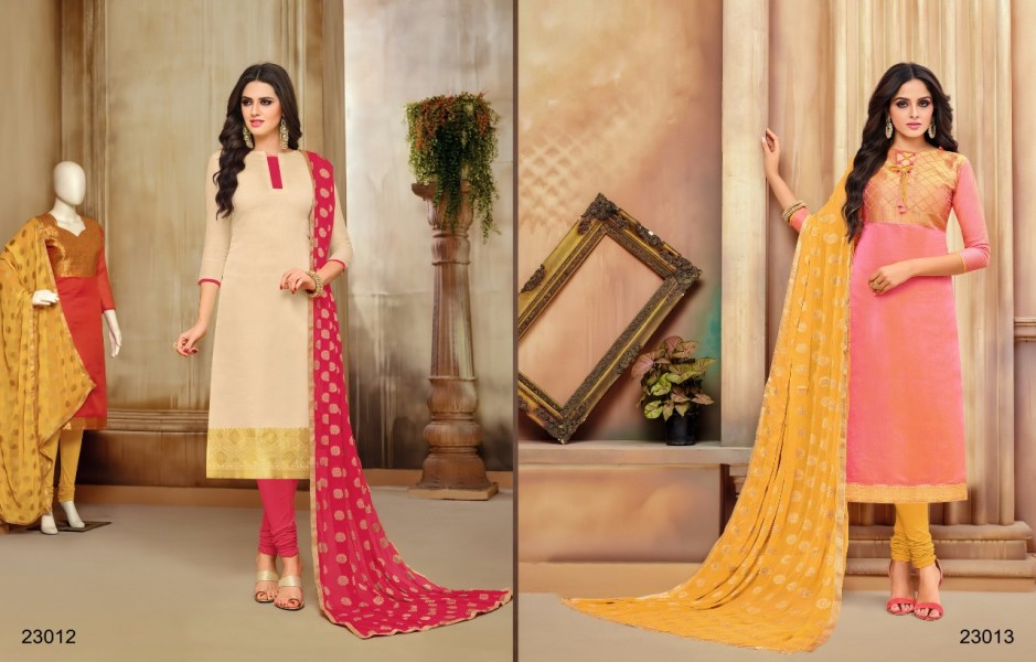 Kapil trendz Launch ethenic vol 2 beautiful elegant look salwar kameez concept