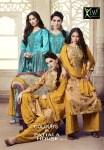Kessi fabrics presents colour's by patiala house vol 9 casual running wear salwar kameez concept