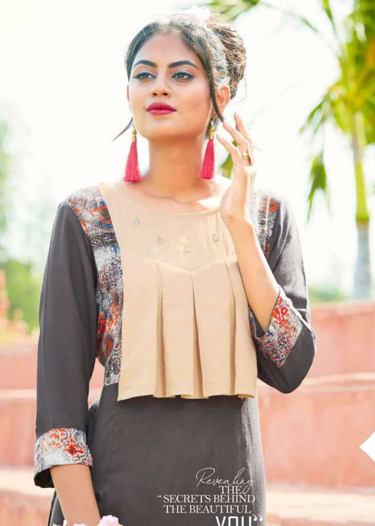 Kirara Presenting just mohabbat casual ready to wear Kurtis concept