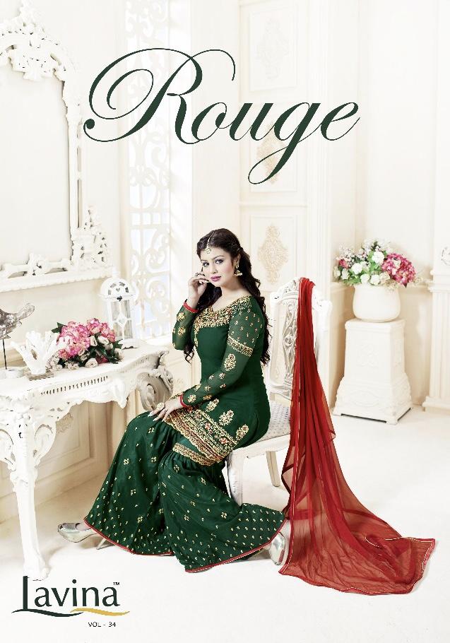 Lavina launch rouge festive season heavy collection of salwar kameez