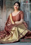 Manjubaa clothing presents lotus vol 11 traditional rich look sarees collection