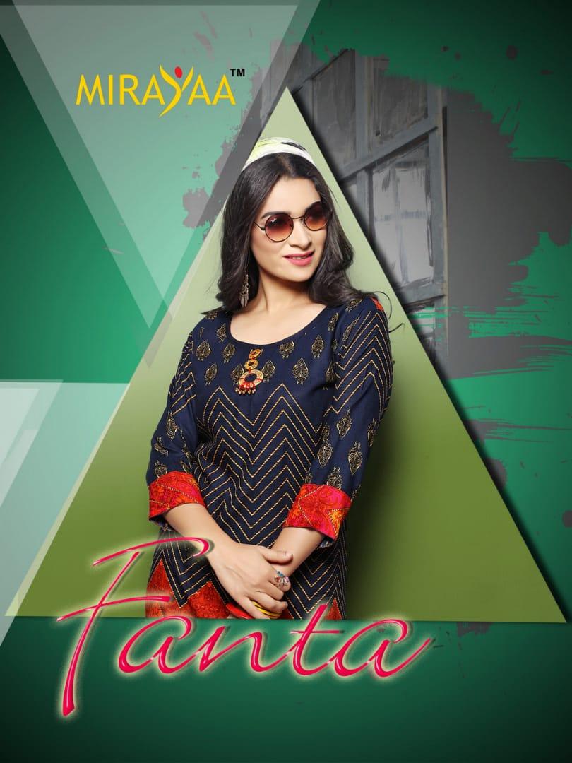 Mirayaa launch Fanta casual running wear kurtis collection