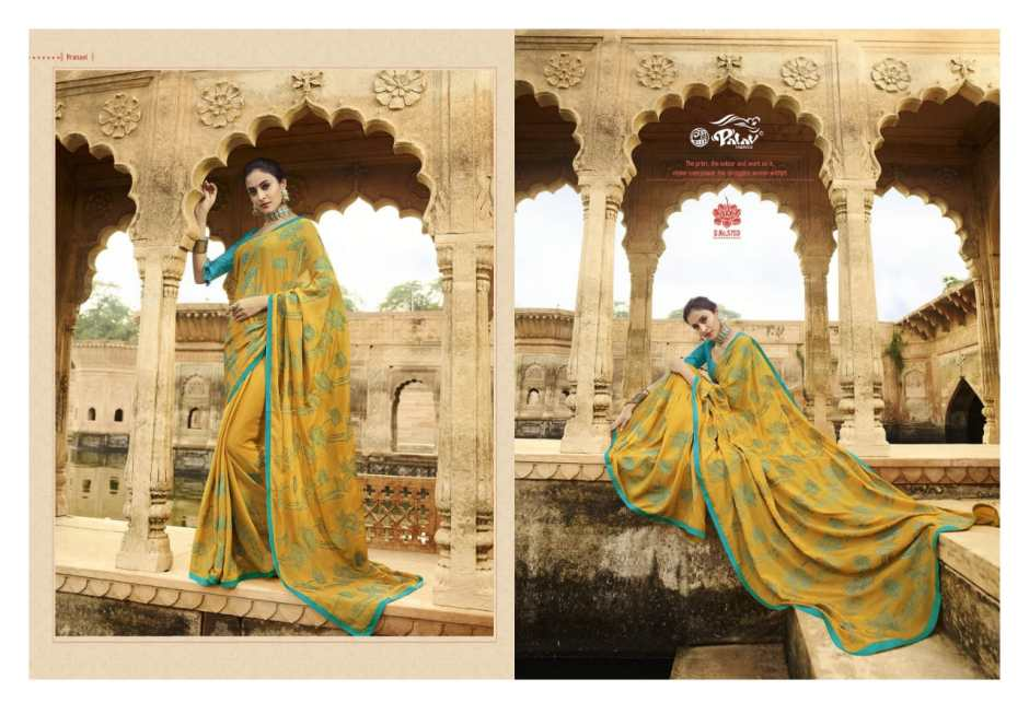 Palav presents shankham 6 festive season ethnic wear sarees collection