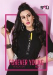 S4U presenting forever young vol 2 stylish with vibrant colours kurtis concept