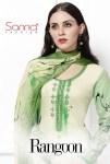 Sanna presenting rangoon exclusive  Casual wear printed salwar kameez concept