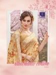 Shangrila presenting kanchana Cotton vol 6 Stylish rich look linen cotton sarees collection