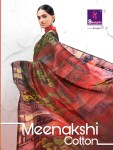 Shangrila presents meenakhsi cotton rich look linen cotton casual sarees collection