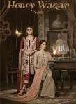 Shraddha designer Presenting honey waqar vol 3 party wear stylish collection of salwar kameez