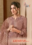 Shree fabs presenting gujarish vol 3 beautiful elegant look Collection of salwar kameez