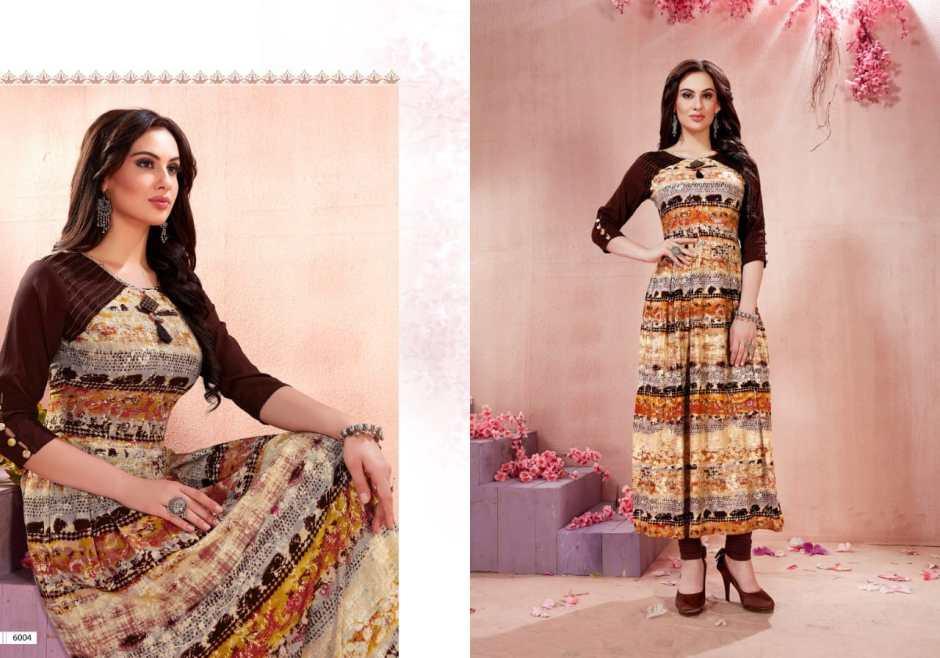 Smriti trendz presents zara casual ready to wear kurtis collection