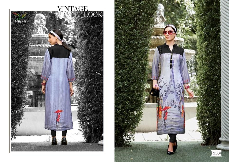 Tanuza launch naira beautiful casual wear kurtis concept
