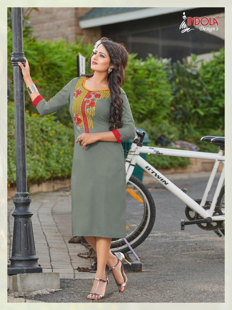 Indola design's Hanger Casual ready to wear kurtis concept