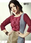 IRIS cherry casual stylish daily wear kurtis concept