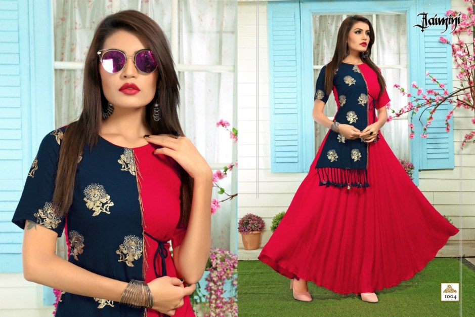 jaimini butterfly vol 2 casual ready to wear kurtis concept