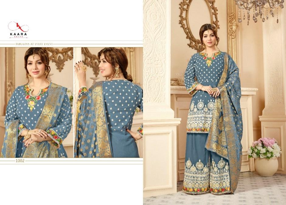 kaara suits presentinga delite heavy bridal collection of salwar kameez