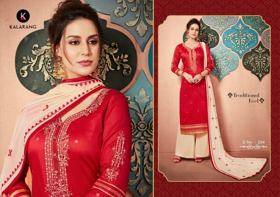 Kalarang creation launch traditional casual Simple daily wear salwar kameez