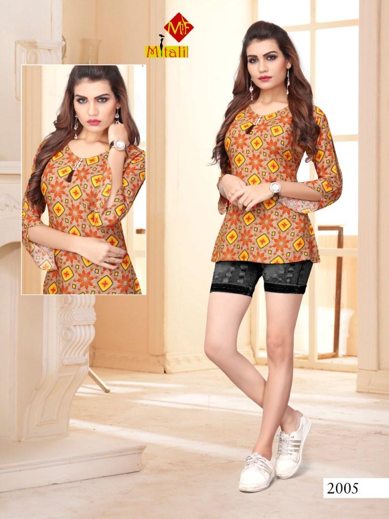 Mitali fashion panchi vol 2 casual daily wear tops concept
